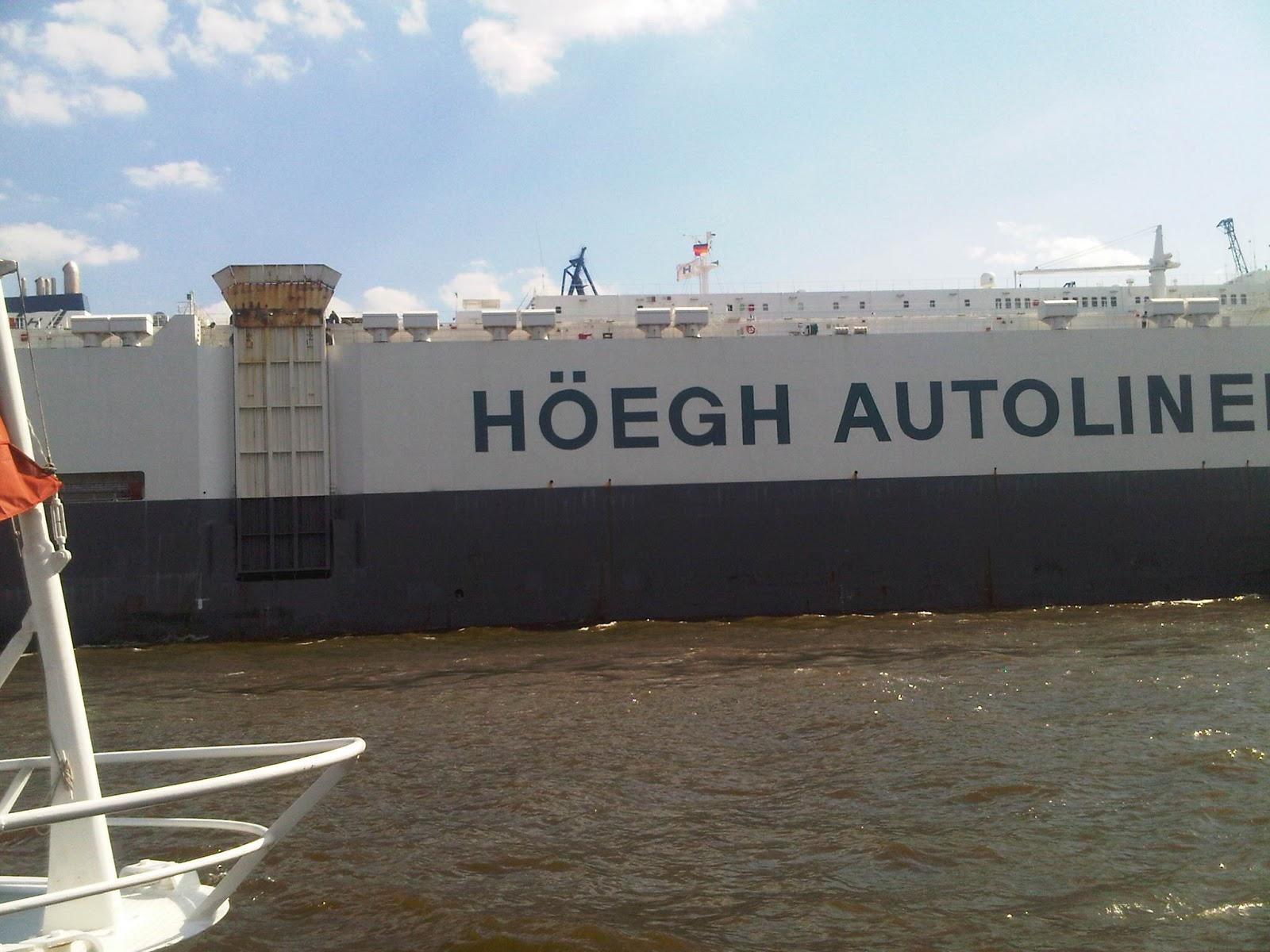 Rumpf der Höegh Autoliners