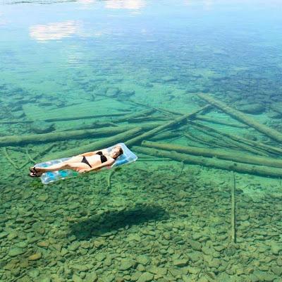 Lago Leigh en Libby Montana, Condado de Linconl, USA.