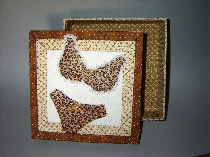 Как украсить коробочки и шкатулки