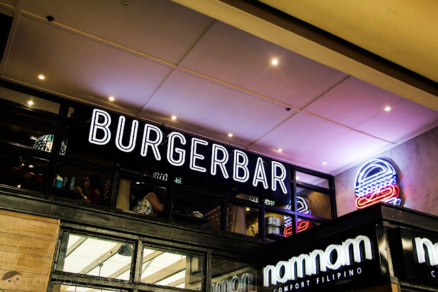 Burger Bar in G/F of Greenbelt 2, Makati
