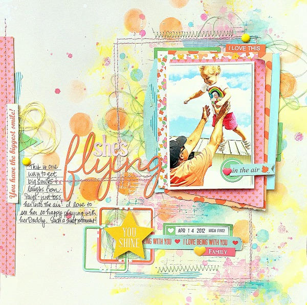 Missy Whidden Chickaniddy Crafts Spring Layout