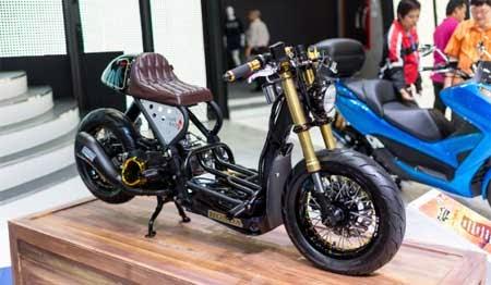 Modifikasi Honda Zoomer X
