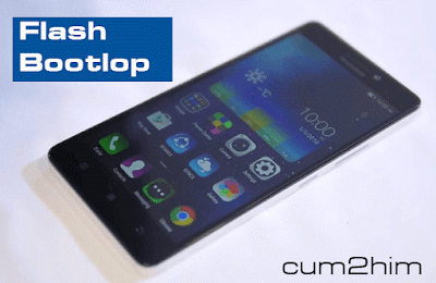 Cara Flash Bootloop Lenovo A7000