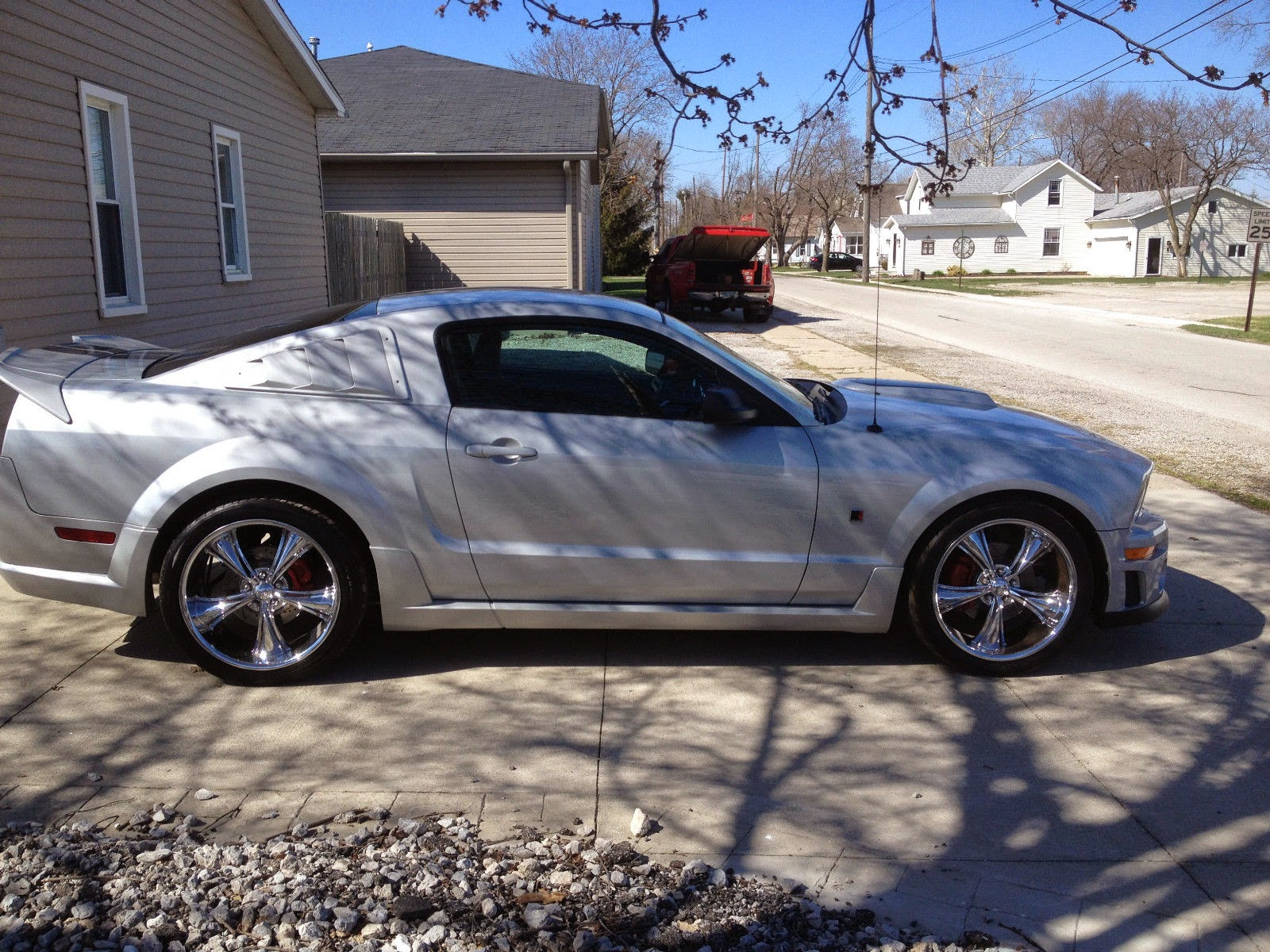 2006 ford mustang gt coupe roush stage 1
