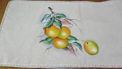 pintura de laranjas