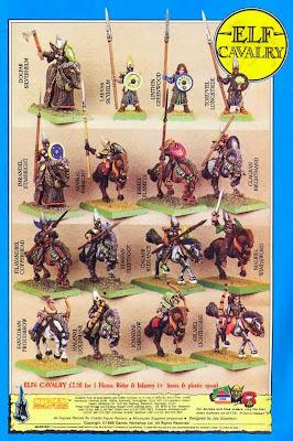 Hoja de catálogo ELF6 Cavalry