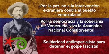 ¡¡ NO A LA INTERVENCIÓN YANQUI EN VENEZUELA !!