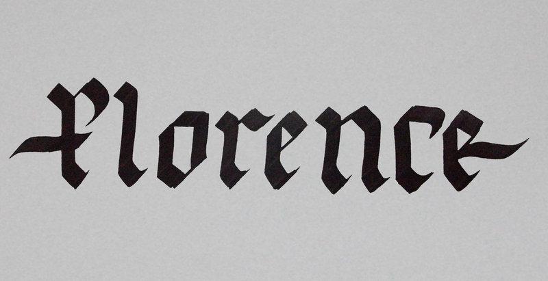 Spoodawgmusic Creating A Gothic Alphabet