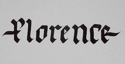 gothic calligraphy