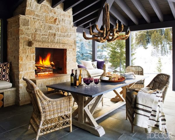 outside fireplace/lulu klein