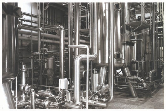 Stainless steel industrial application