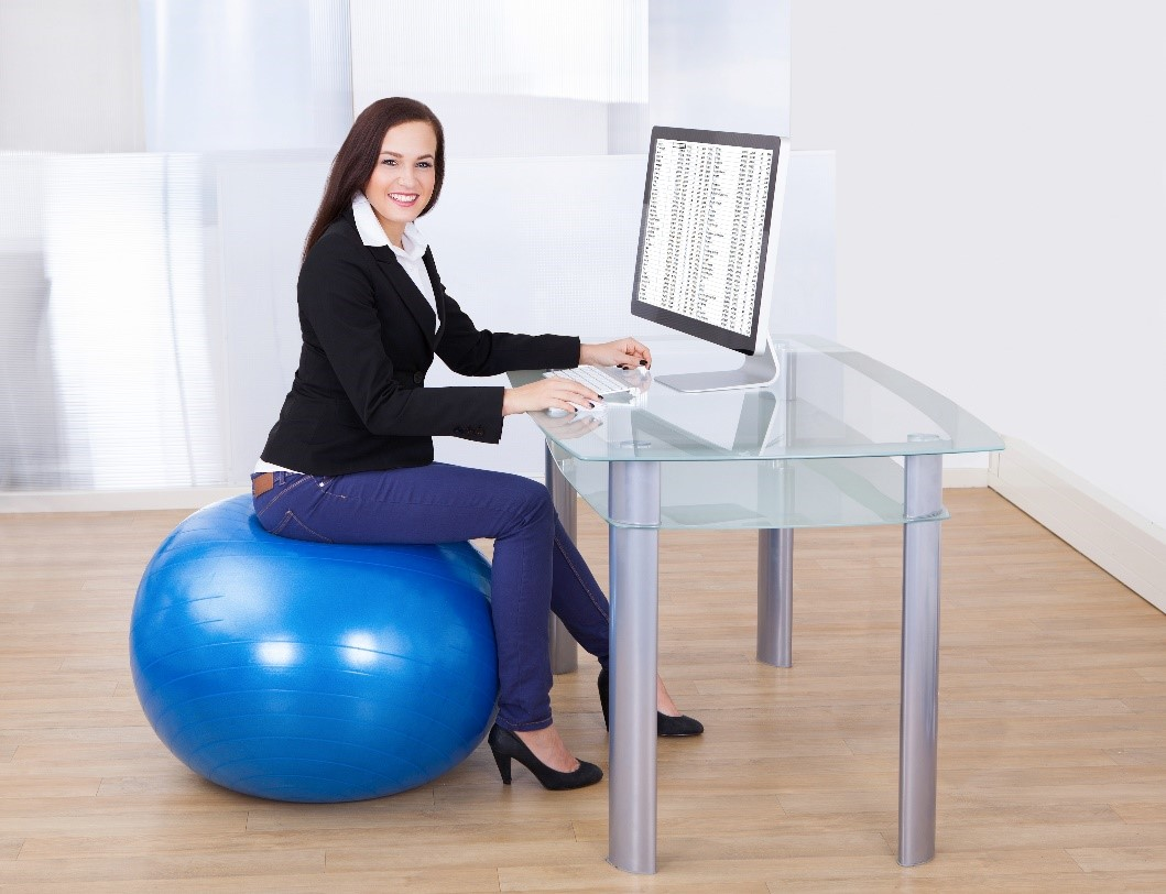 1) Exercise Ball