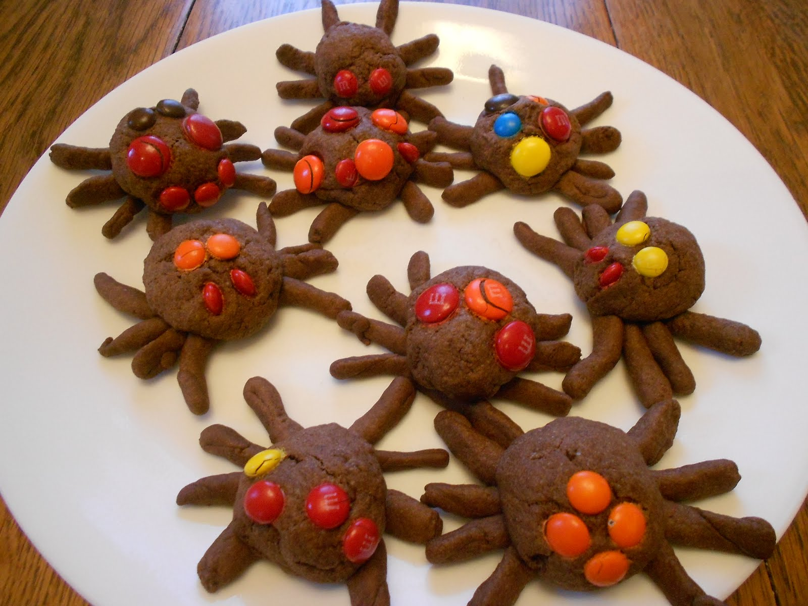 Almost Unschoolers: Scary Spider Cookies