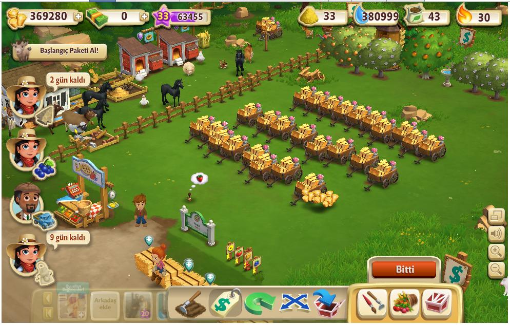 Farmville 2 Sınırsız Altın Hilesi