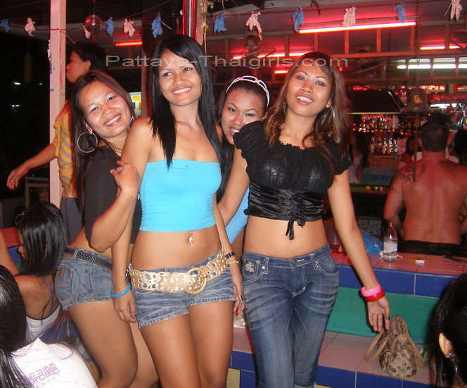 thai girls Hot bar