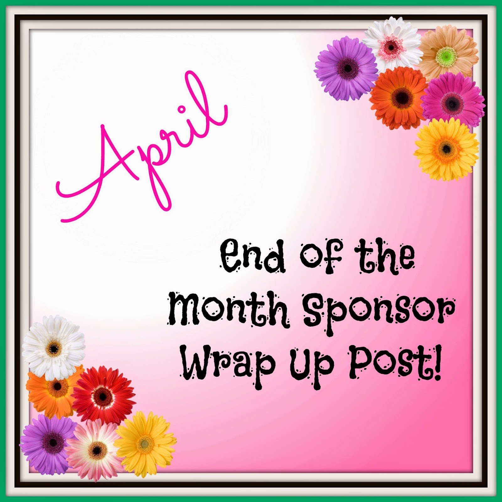 April End of the Month Wrap Up Post | OrganizingMadeFun.com