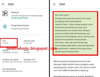 Download BBM 2.9.0.44 .APK Final New Material Design
