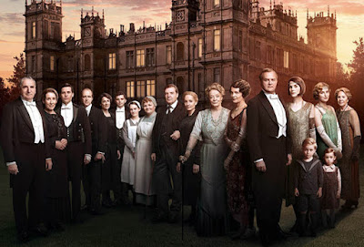 Los Lunes Seriéfilos Downton Abbey reparto