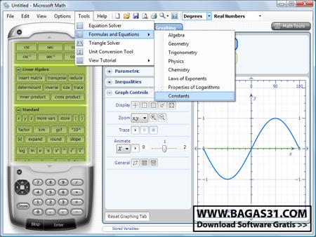 Microsoft Mathematics 4.0 2