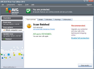 AVG Anti-Virus Free 2012