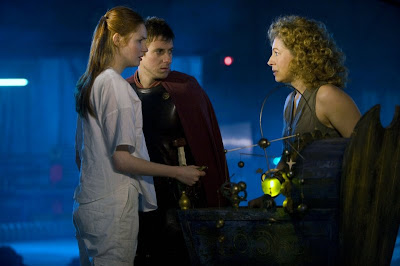 Dr Who, A Good Man Goes to War, Rory, Amy and River Song