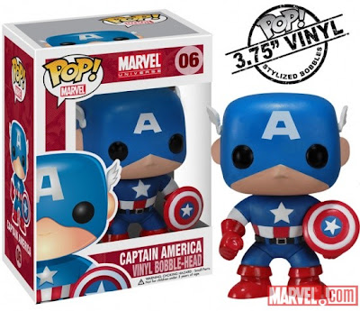 Captain America Funko Marvel Bobble-Head
