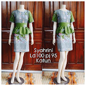 Dress Batik Solo DB 5091 Harga Reseller : Rp 80.000,-