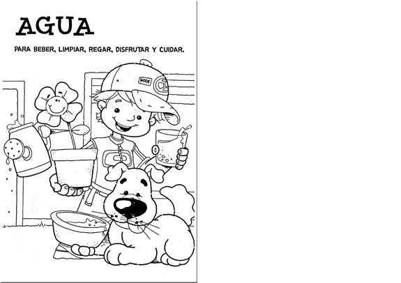 Carteles del cuidado del agua para niños - Imagui