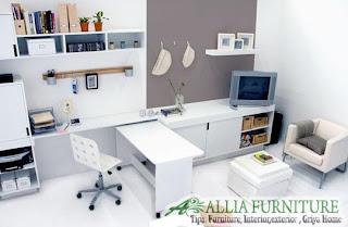 Contoh model ruang kerja di rumah
