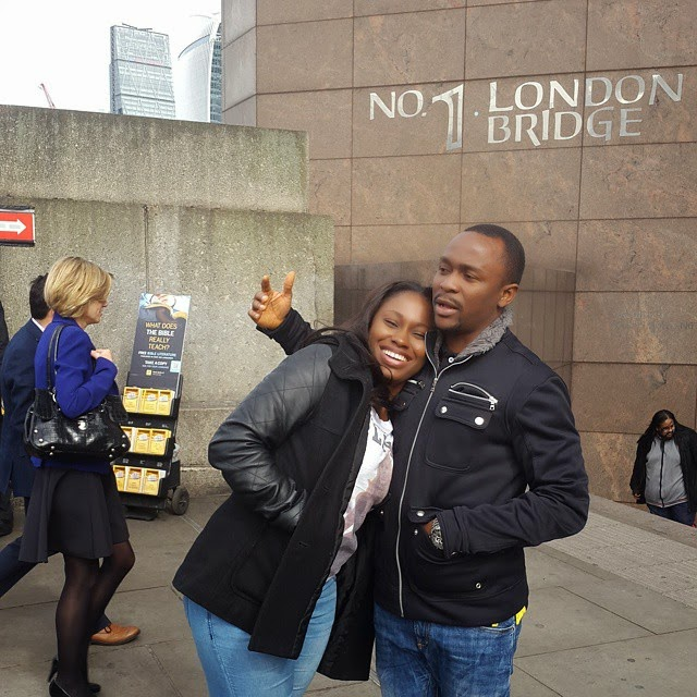Comedian Ushbebe On Romantic Getaway With His Wife – Photos