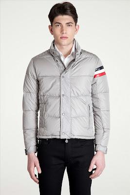 Moncler Chamonix down jacket (light gray)