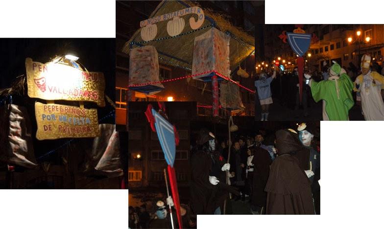 Peña celtista de Valladares, comparsa del Carnaval vigués de febrero del 2010