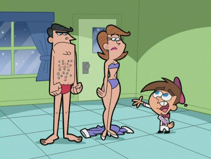 naked fairly odd parents woman