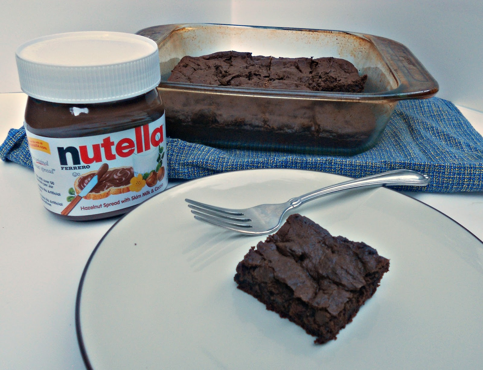 Double Dark Chocolate Nutella Brownies: Secret Recipe Club - Hezzi-D's ...