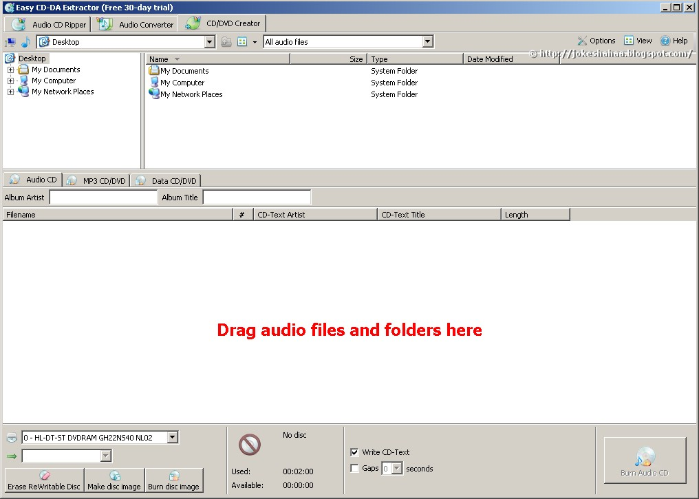 Download Easy CD-DA Extractor Easy CD-DA Extractor - The Audio Conve