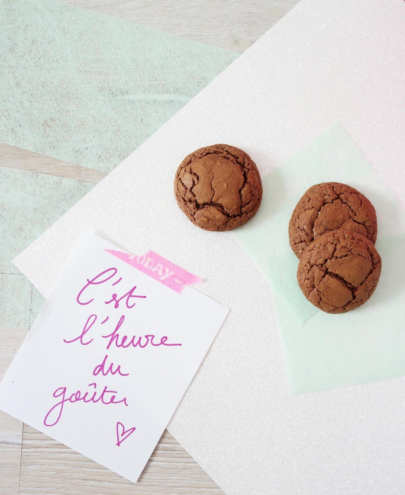 crinkles biscuit moelleux au chocolat shylylovely. Black Bedroom Furniture Sets. Home Design Ideas