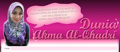 Tempahan Design Blog Akma al-Qhadri