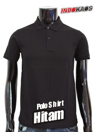 Polo Shirt Polos Hitam