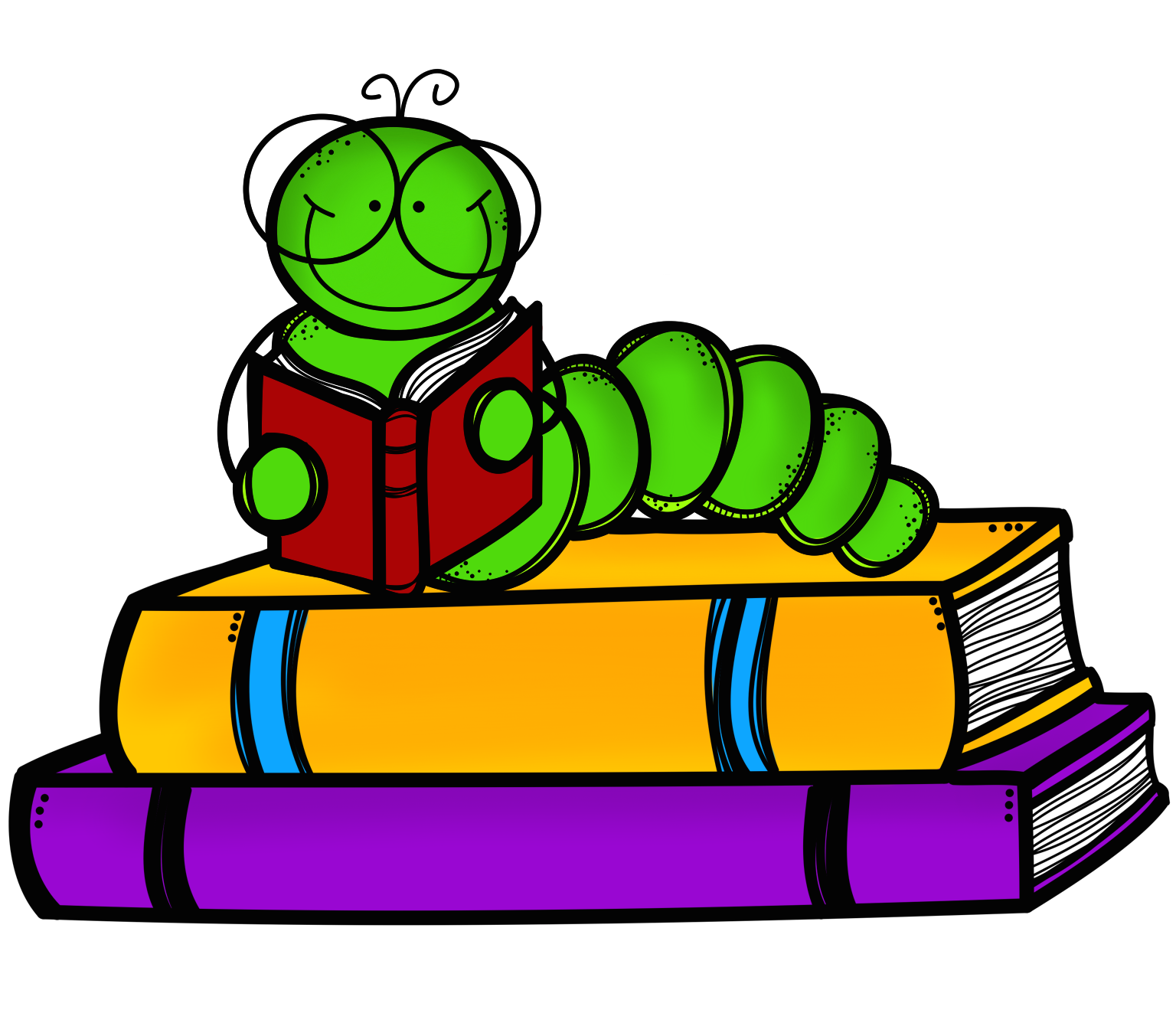 revitalizing a classroom library   adventures in literacy land Butterfly Clip Art cute inchworm clipart