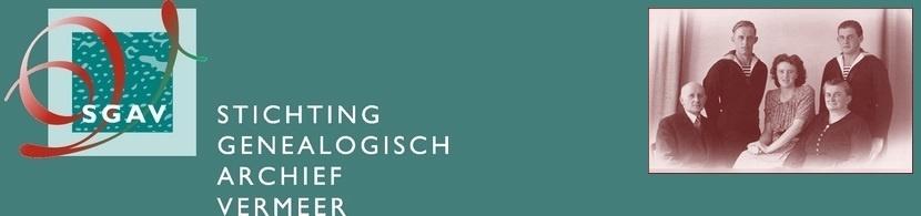 Stichting Genealogisch Archief Vermeer - Nieuws