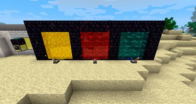 Enhanced Portals Mod colores