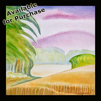 North East Artist Ingrid SylvestreRomantic English Landscape Paintings Ingrid Sylvestre Artist UK The Dreaming Fields
