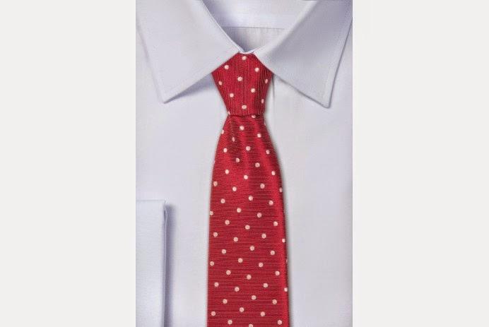 Krawat w groszki (do pracy) - yoos.pl