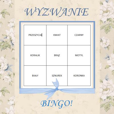 wyzwanie bingo