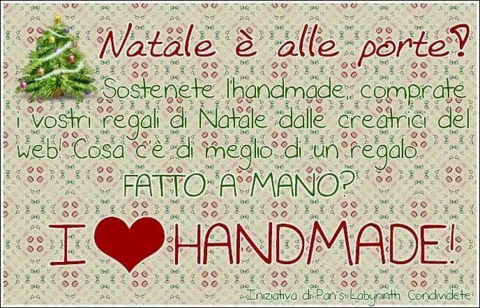 Natale 2013:Compra Handmade fatto con amore