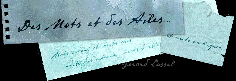 Des mots et des ailes...