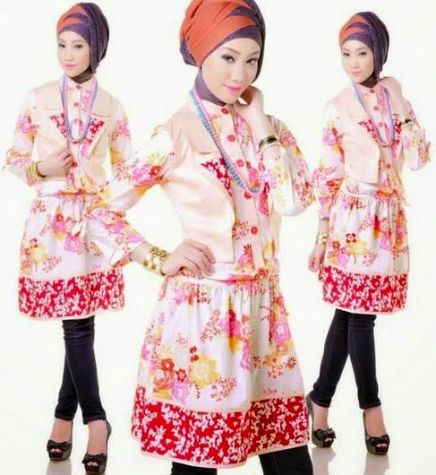 Koleksi Baju Muslim Remaja Terbaru 2015