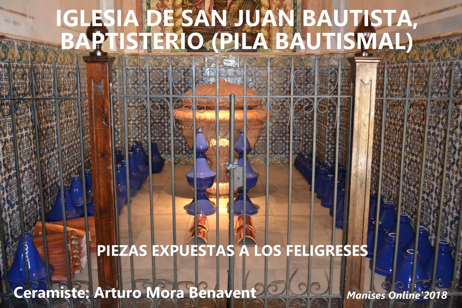 29.03.18 CONTINÚAN LAS OBRAS DE RESTAURACIÓN EN LA PARROQUIA DE SAN JUAN BAUTISTA DE MANISES