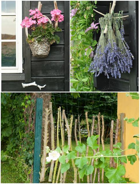 kreative indslag i haven