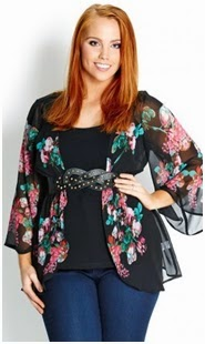 Drapey Bloom Jacket
